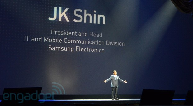 Samsung's JK Shin: there's 'lackluster demand' for Windows-based phones, tablets