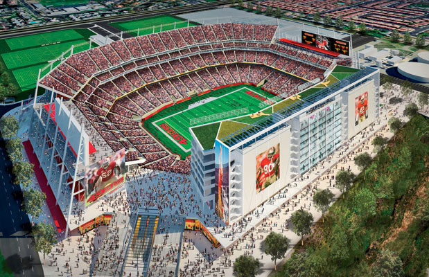 Facebook alums plan WiFi network at 49ers' stadium, will support 68,500 fans simultaneously