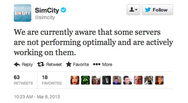 Reticulating splines for reticulating times the SimCity debacle