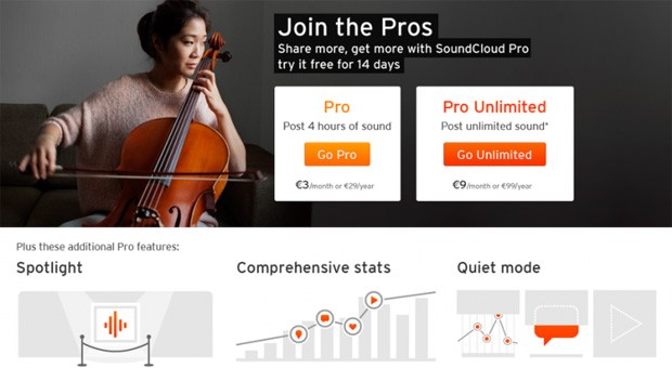 SoundCloud streamlines Pro plans, launches a Pro Partner tier for top streamers