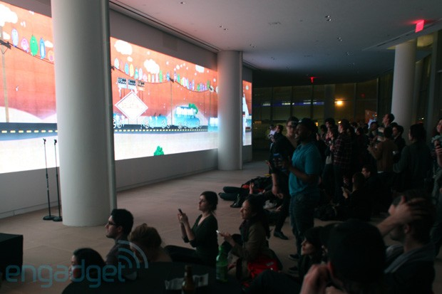 Bird poop and big screens Attempting a multiplayer world record