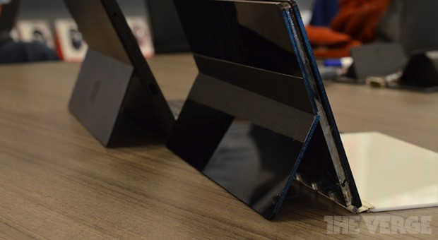 Microsoft shows early Surface prototypes with curved backs and beyond