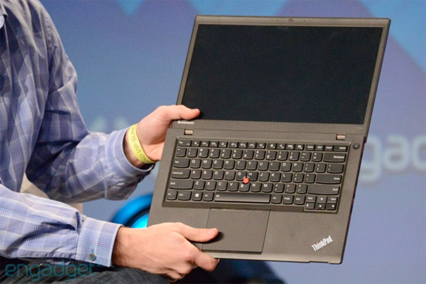 Lenovo ThinkPad T431s Ultrabook refined exterior, widened trackpad, shipping in April for $  949