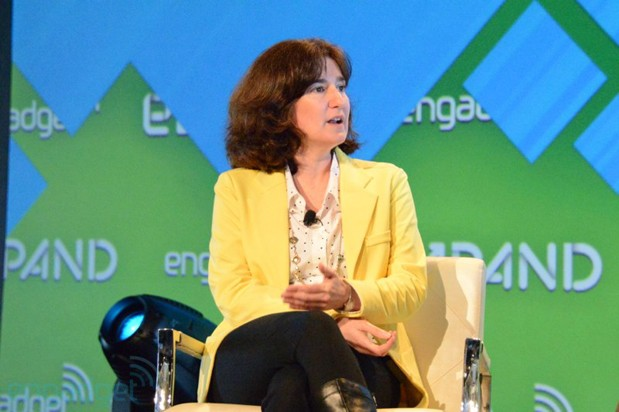 Google's Tamar Yehoshua backstage at Expand (video)