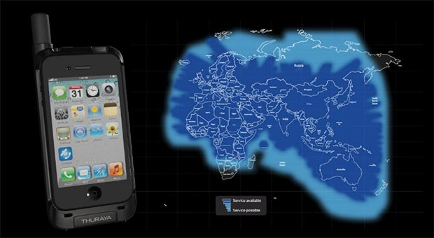 Thuraya slides iPhone onto its satellite network with SatSleeve, charges it too