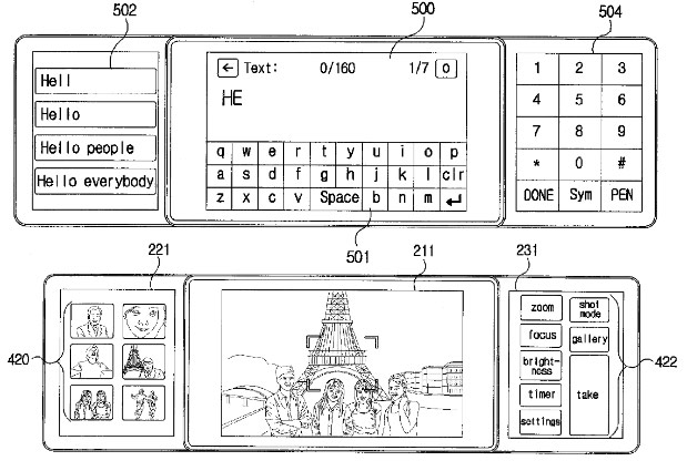 LG issued patent for the 2010era triscreen smartphone that never was