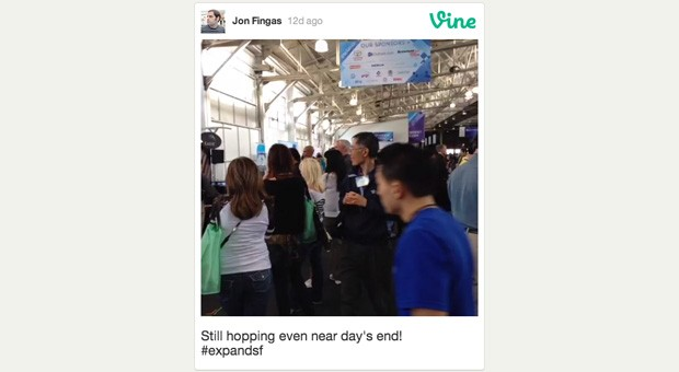 Vine switches on video embeds, keeps web viewers in the loop