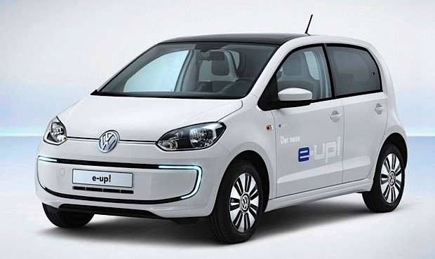 Volkswagen shows production EUp! with 93mile range and ACDC charging