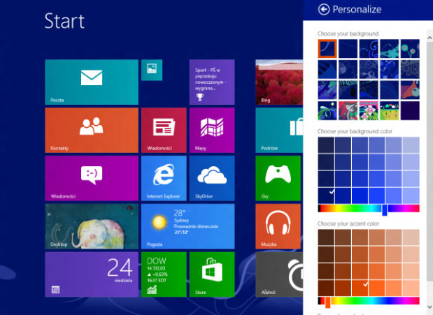 Leaked Windows Blue build 9364 depicts multiple Live Tile sizes, samewidth sidebyside apps