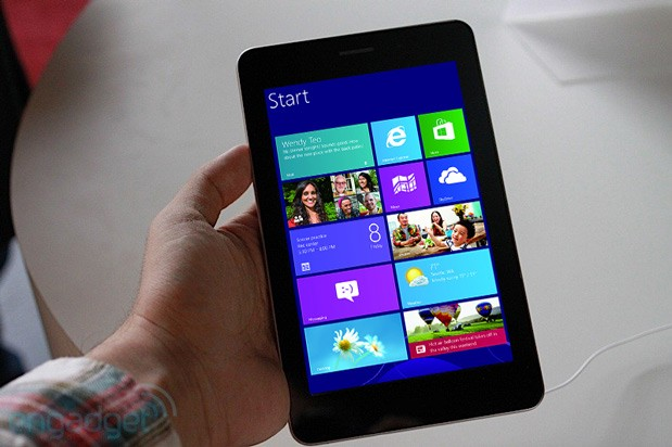 Microsoft relaxes Windows 8 rules to allow smaller screens is a readersized tablet on its way