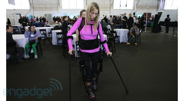 Ekso Bionics' robotic suit eyeson video