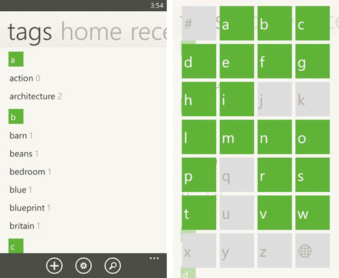 Evernote for Windows Phone adds refined UI, checkboxes, livetile shortcuts and document search in 30 update