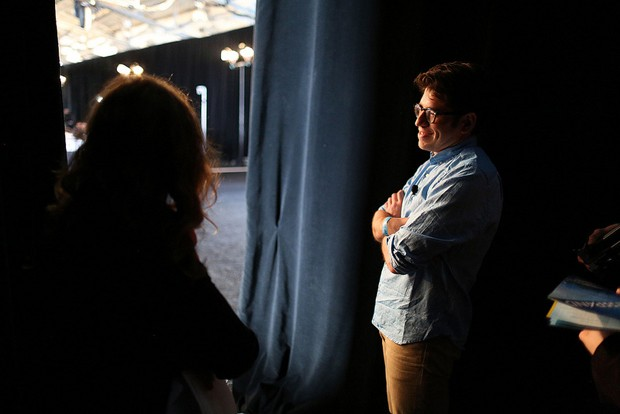 Kickstarter's Yancey Strickler backstage at Expand (video)