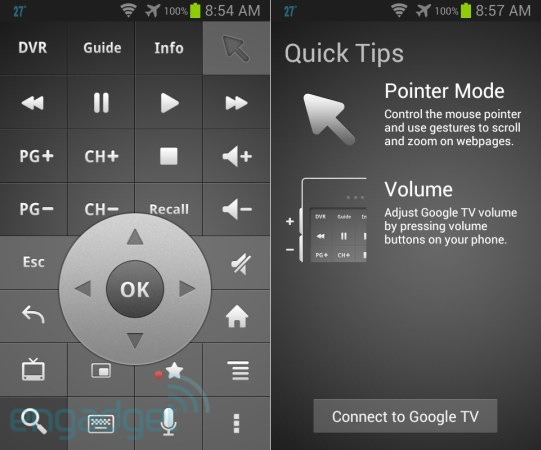 Google TV Remote app for Android gets its first update, with voice search and design tweaks