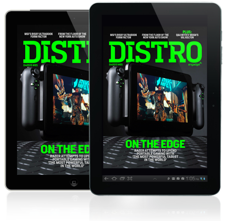 Distro Issue 85 On the Edge as Razer attempts to upend mobile gaming