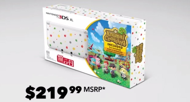 Animal Crossingflavored Nintendo 3DS XL bundle costs $  219, launches this June