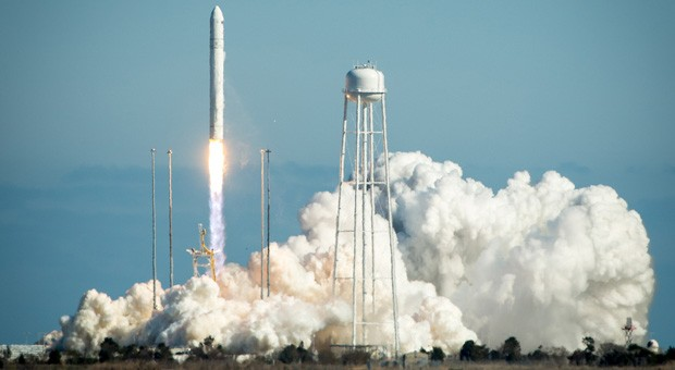 Watch live Orbital Sciences' Antares rocket to lift off on test flight update success!