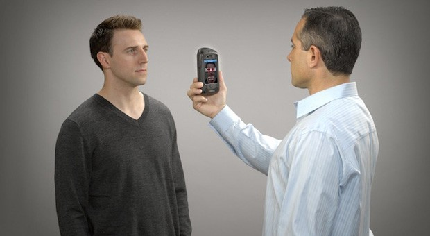 AOptix Stratus lets iPhone owners check your ID through eyes, faces, fingers and voices 