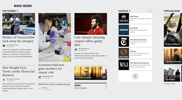 microsoft updates bing apps for windows 8 with rss news