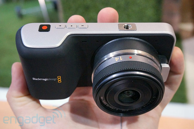 Blackmagic announces Production Camera 4K, $995 Pocket Cinema Camera with MFT mount handson video