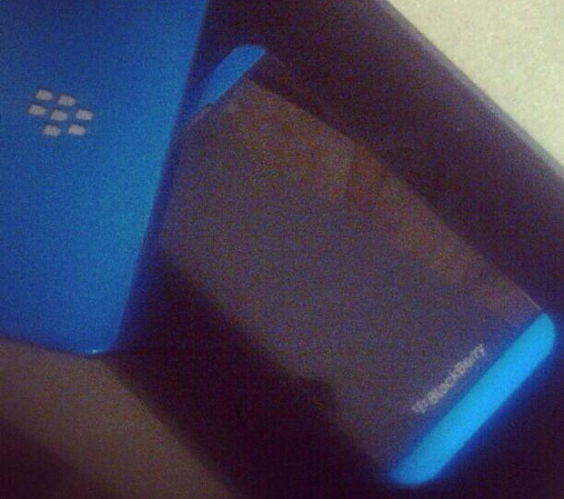 Is this a limited edition BlackBerry Z10 in blue or just a very nice custom paint job