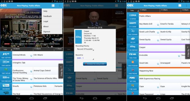 Cox TV Connect for Android launches, brings live TV streaming to 'select' tablets