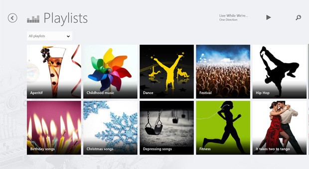 Deezer streaming music launches on Windows 8