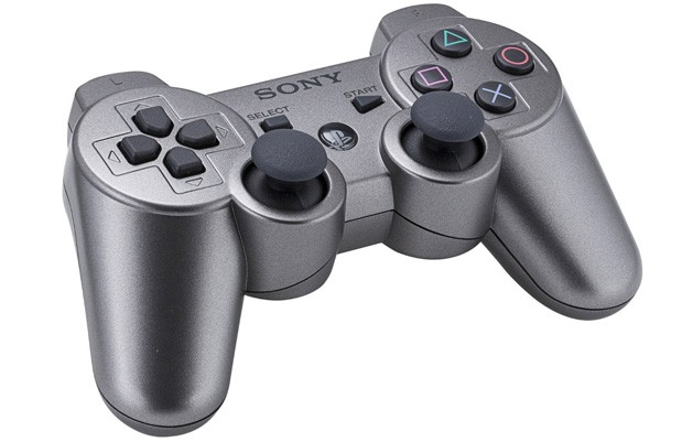 Make your PlayStation 3 look that much more like a Terminator robot with 'Metallic Gray' DualShock 3