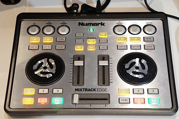 Numark Edge ultraportable DJ controller announced, we go handson