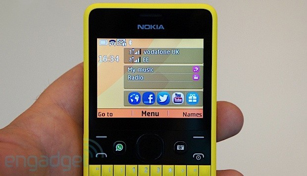 Nokia announces Asha 210 a colorful QWERTY with a social heart, we go handson video