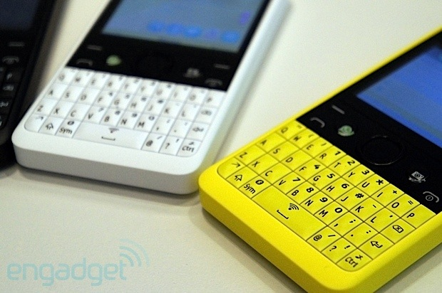 Nokia announces Asha 210: a colorful QWERTY with a social heart, we go