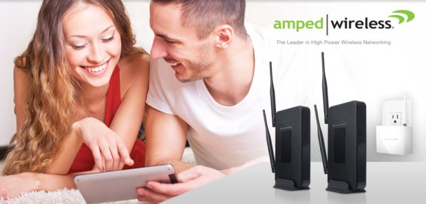 Engadget Giveaway win one of two Amped Wireless router bundles!