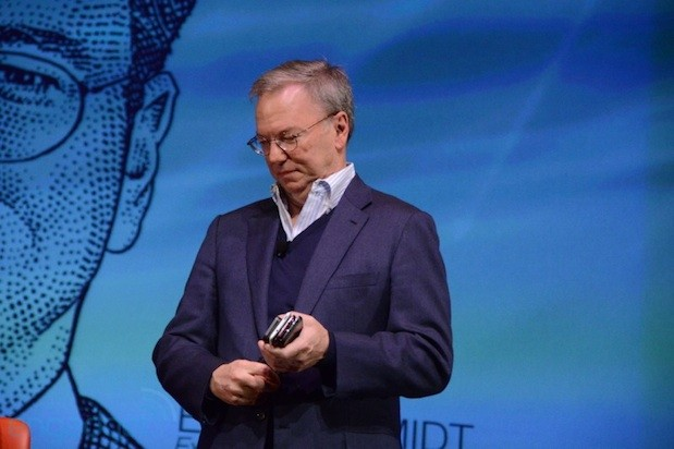 Eric Schmidt Google now at 15 million Android activations per day