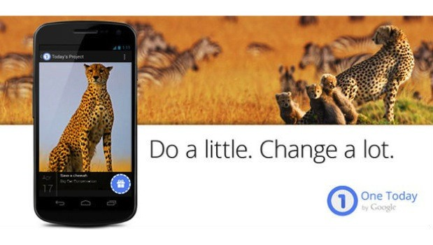 DNP Google's One Today app for Android lets you donate $1 to select nonprofit organizations
