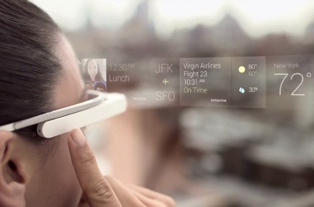 Google helps you get acquainted with Glass UI in howto video