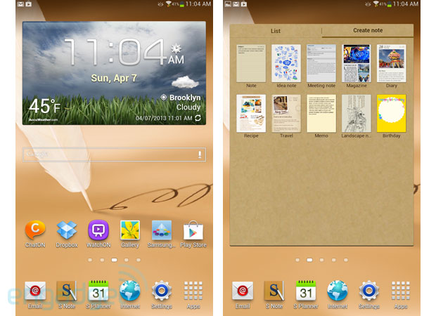 Samsung Galaxy Note 80 review