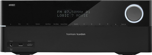 Harman Kardon AVR 2700 and 3700 receivers tout both 4K scaling and AirPlay