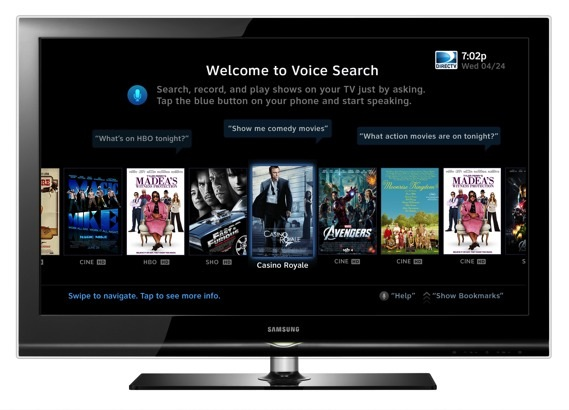DirecTV adding voice search to its iOS and Android phone apps, beta coming this summer