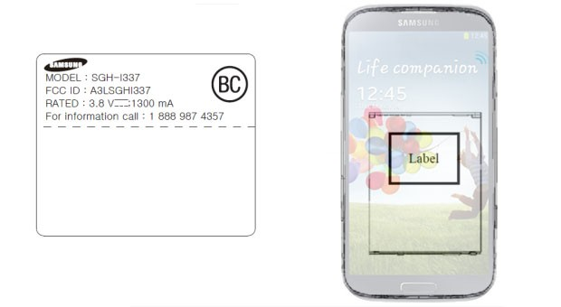 Samsung SGHi337 hits FCC with AT&T LTE bands, fits the GS 4 profile
