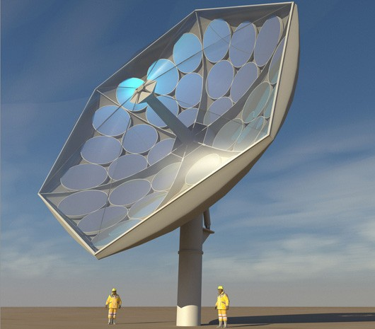 IBM alliance's HCPVT solar collector produces 25kW of power, keeps its cool