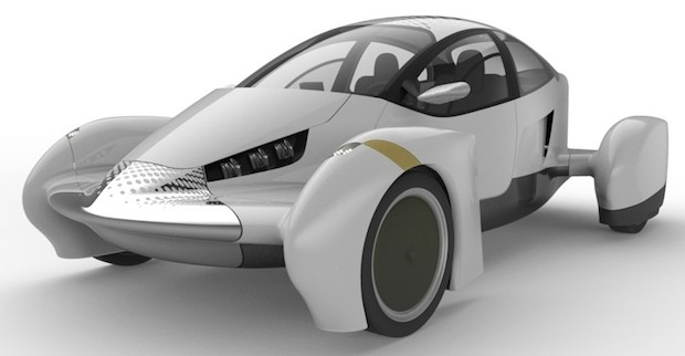 Edison2 shows off an updated Very Light Car EV,