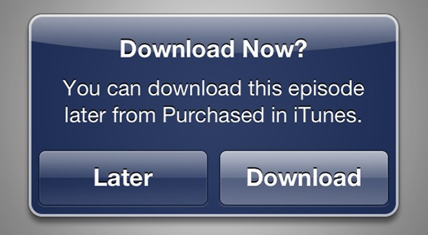 iTunes Store now lets you purchase media now, download it later