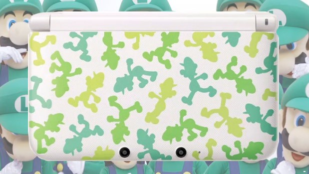 Luigi edition Nintendo 3DS LL gives Mario&#8217;s brother his due, but only in Japan