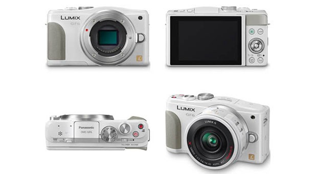 Lumix DMCGF6 leaks out in white ahead of April 9 launch
