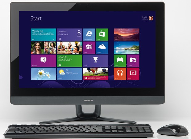 Medion Akoya P2004 gives the UK an understated 24-inch all-in-one for £500