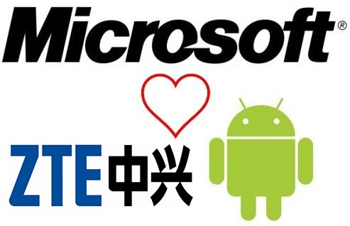 ZTE licenses Microsoft&#8217;s Android-related patents