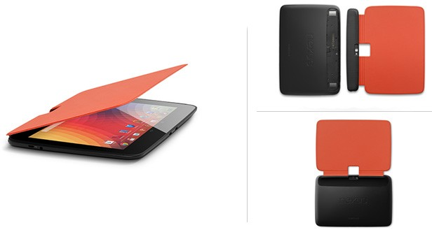 Google bestows the Nexus 10 with a pair of covers, available now for $2999