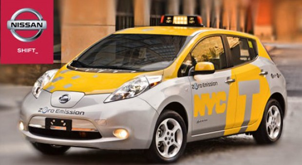 NYC rolls out six Nissan Leafs in EV taxi pilot, good luck catching one