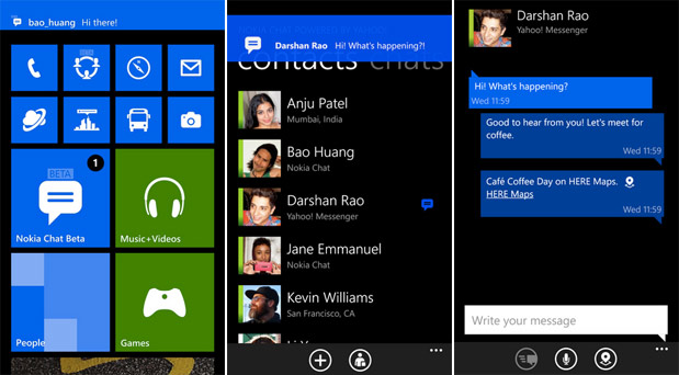 Nokia Chat beta messaging app released for WP8, is exclusive to Lumias
