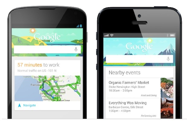 Google Now available on iOS devices starting today